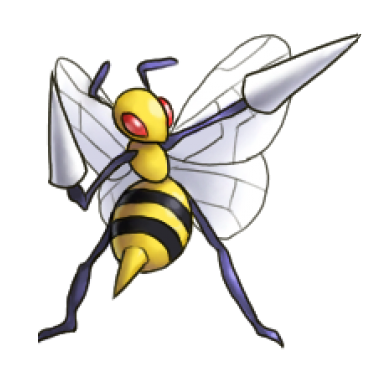 How To Draw Beedrill From Pokemon In Easy Steps Lesson