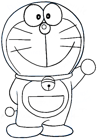 How to Draw Doraemon with Easy Step by Step Tutorial
