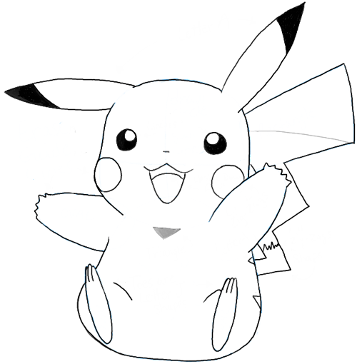 Finished Pikachu from Pokemon
