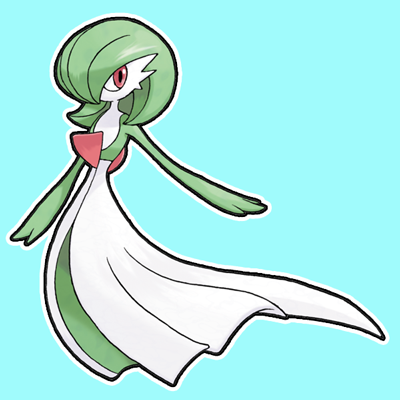 How to Draw Gardevoir from Pokemon with Easy Step by Step Drawing Tutorial