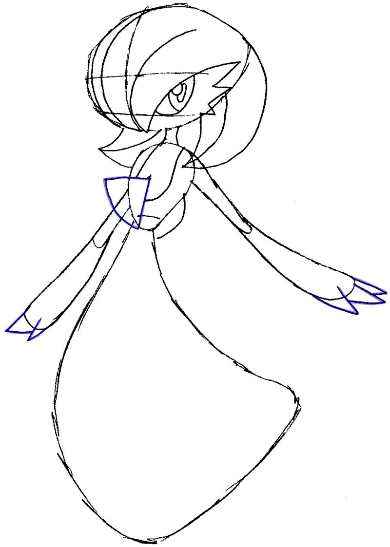 gallade coloring pages - photo#34