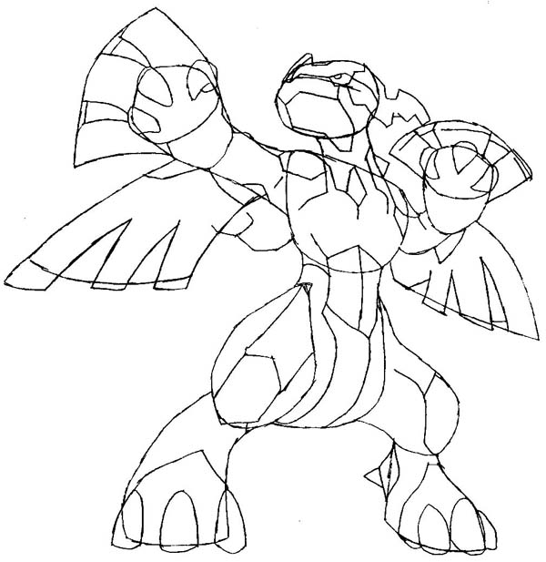 zekrom ex coloring pages | How to Draw Zekrom from Pokemon in Step by Step Lesson ...