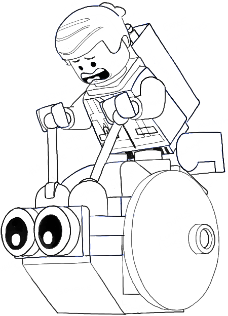 How to Draw Emmet and the Snail from The Lego Movie in Easy Steps