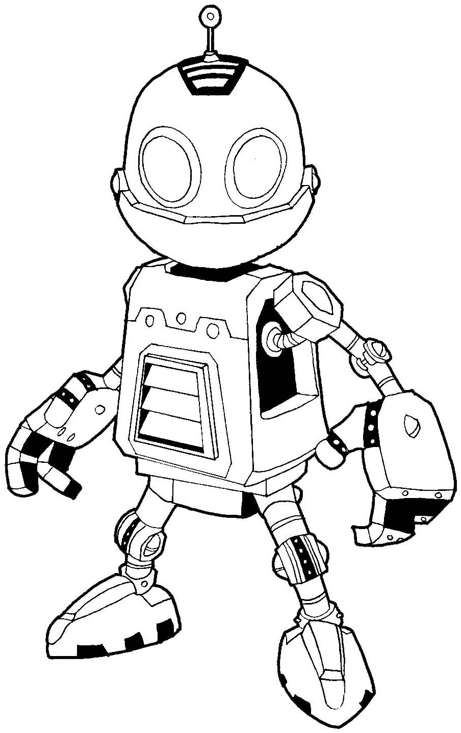 How to Draw Clank from Ratchet & Clank in Easy Steps