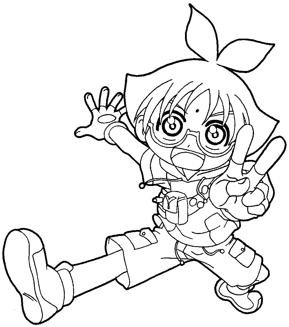 How to Draw Marucho Marukura from Bakugan in Easy Steps