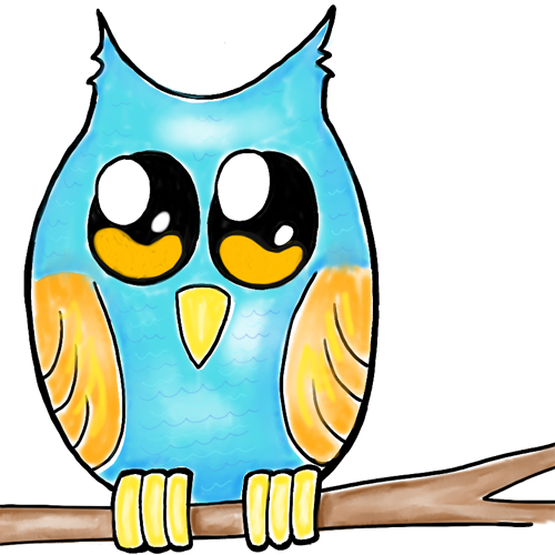 How to Draw Owls for Kids