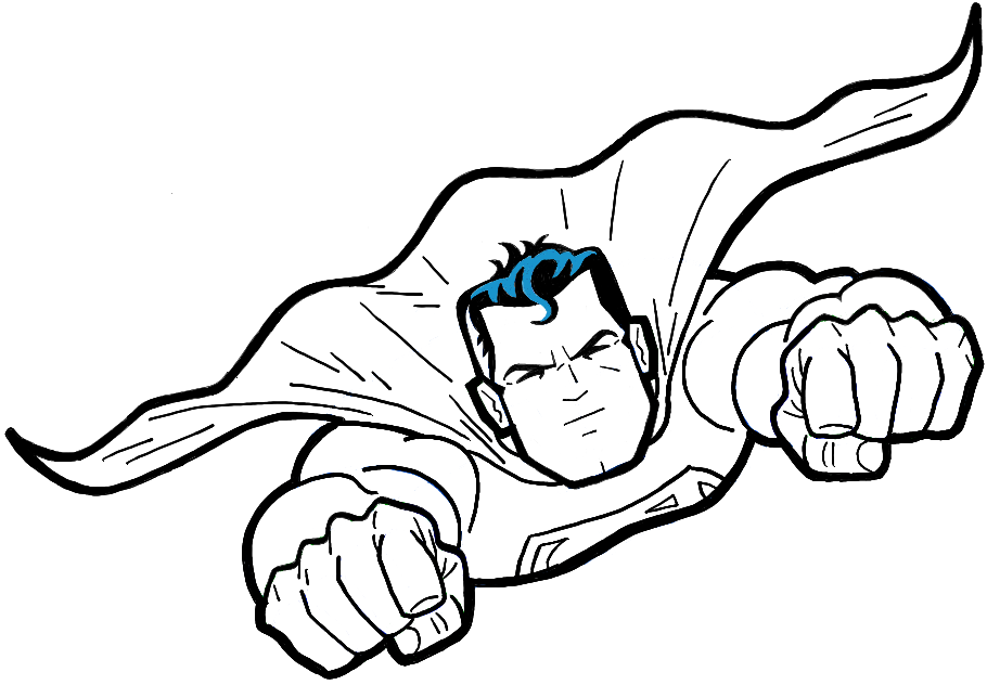 Gallery For gt Simple Superman Drawings