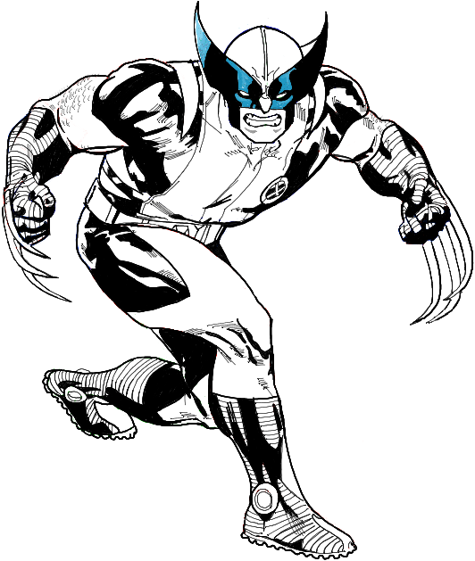 How to Draw Wolverine from Marvel Comics in Easy Steps
