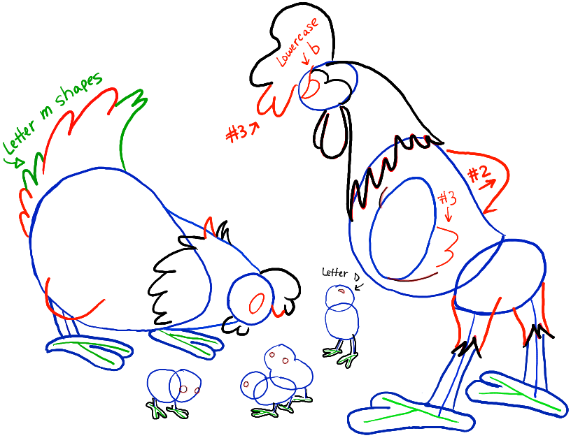 step04-chickens-hen-rooster-chicks