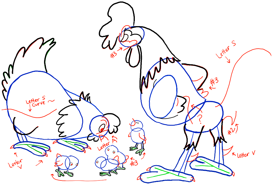 step05-chickens-hen-rooster-chicks