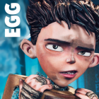 How to Draw Egg The Little Boy from Boxtrolls Step by Step Drawing Tutorial