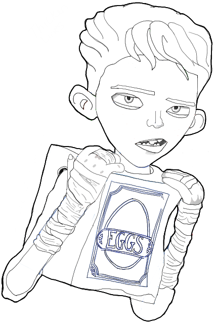 boxtrolls coloring pages - photo#11