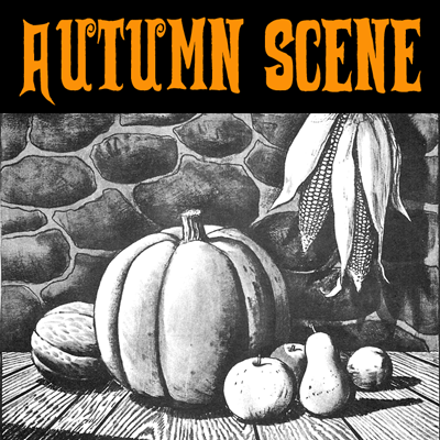 How to Draw a Fall Still Life Harvest Scene for Thanksgiving and Halloween