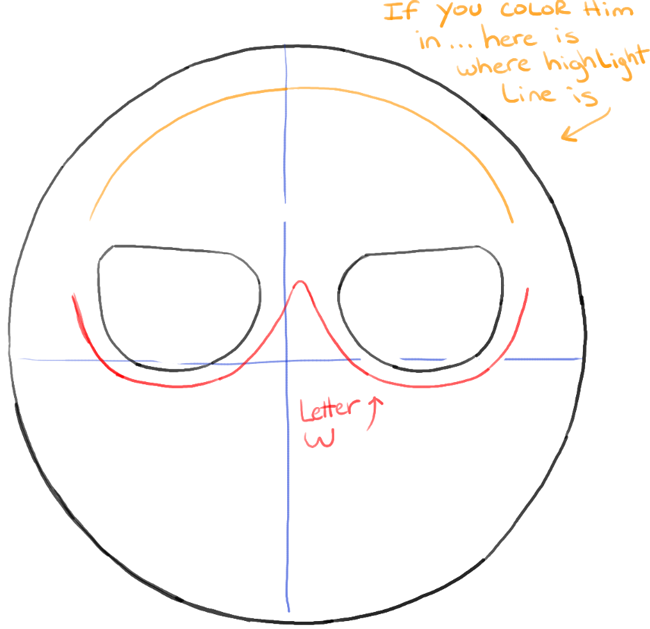 How to draw sunglasses emoji face with easy steps tutorial how step04 bw drawing sun glasses emoji face ccuart Gallery