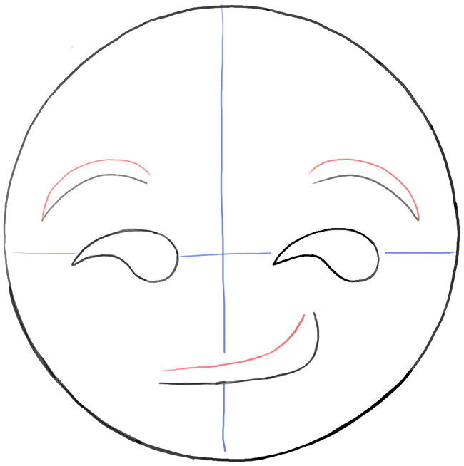 step06-how-to-draw-smirking-face-emoji