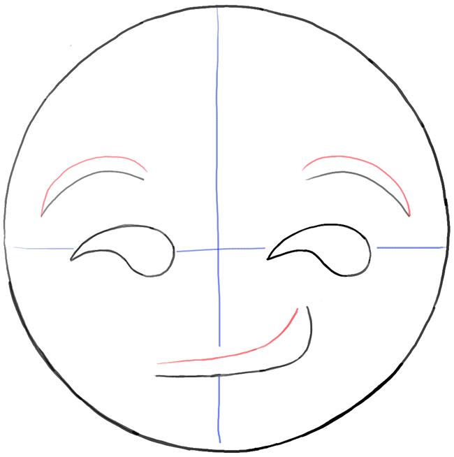 step06-how-to-draw-smirking-face-emoji