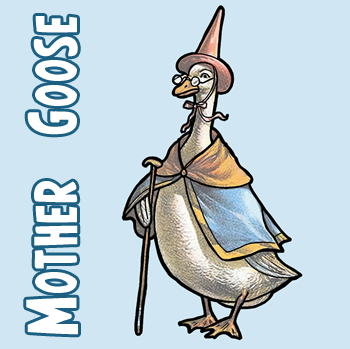 How to Draw Mother Goose with Easy Step by Step Drawing Lesson