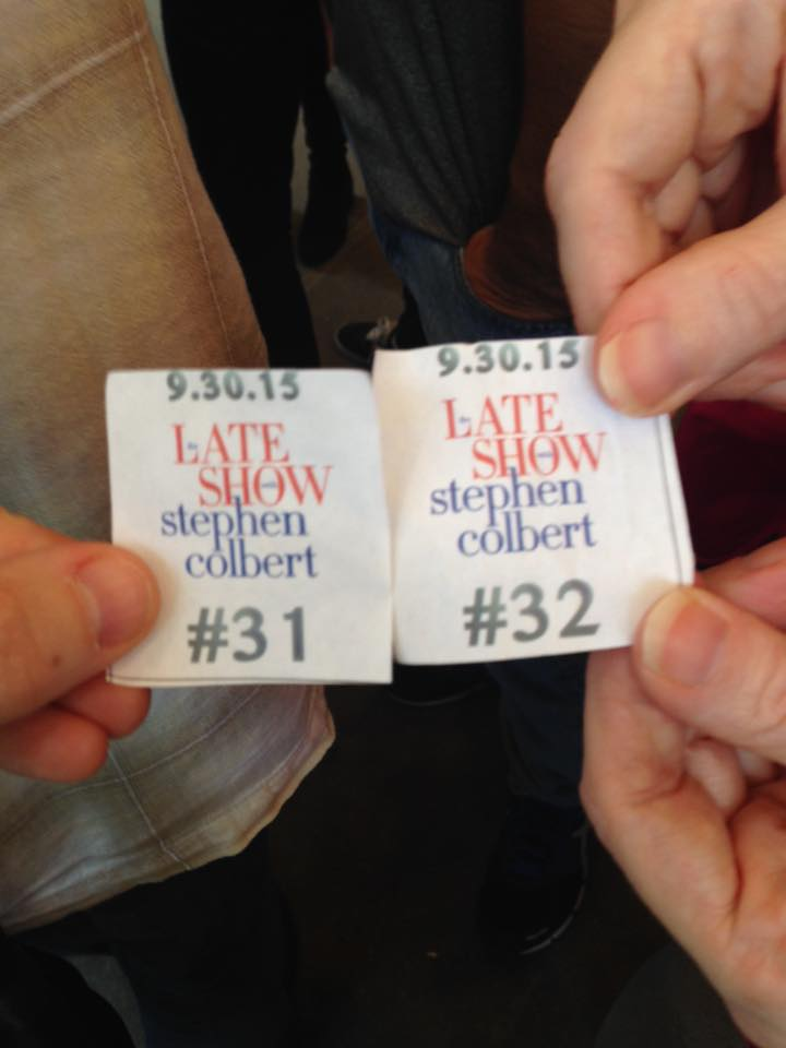 Late show with stephen colbert tickets