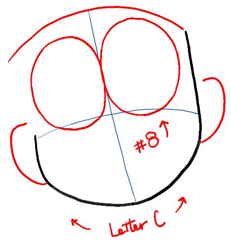 step02-how-to-draw-Nobita-Nobi-from-doraemon