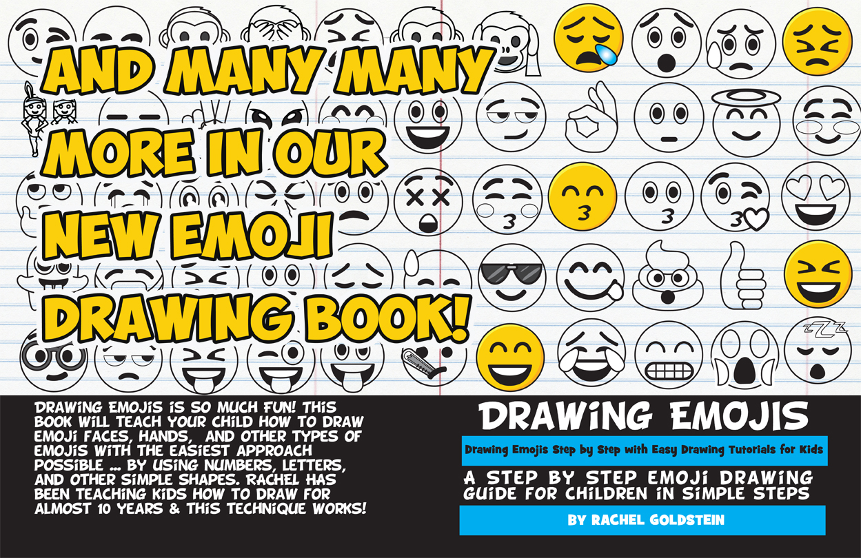 drawing emojis for kids drawing tutorial book